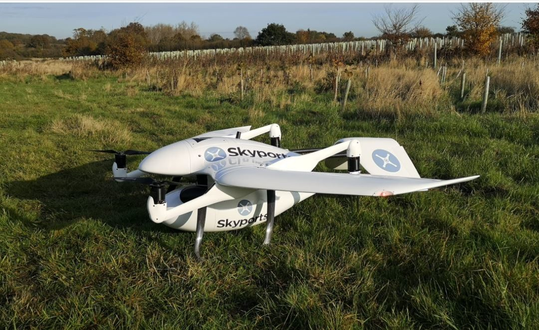 Skyports joins the CAA Regulatory Sandbox to make drone deliveries a reality