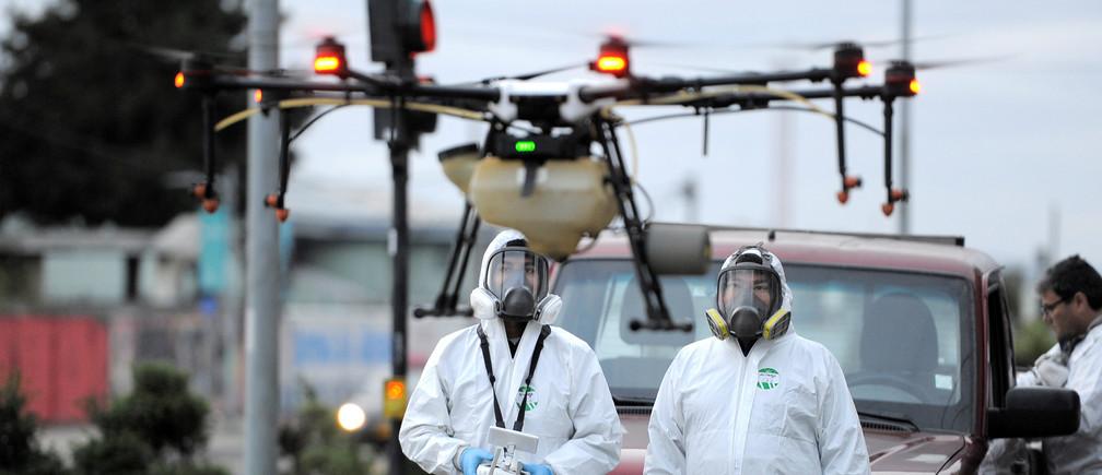 Chilean community using drones to deliver medicine to elderly