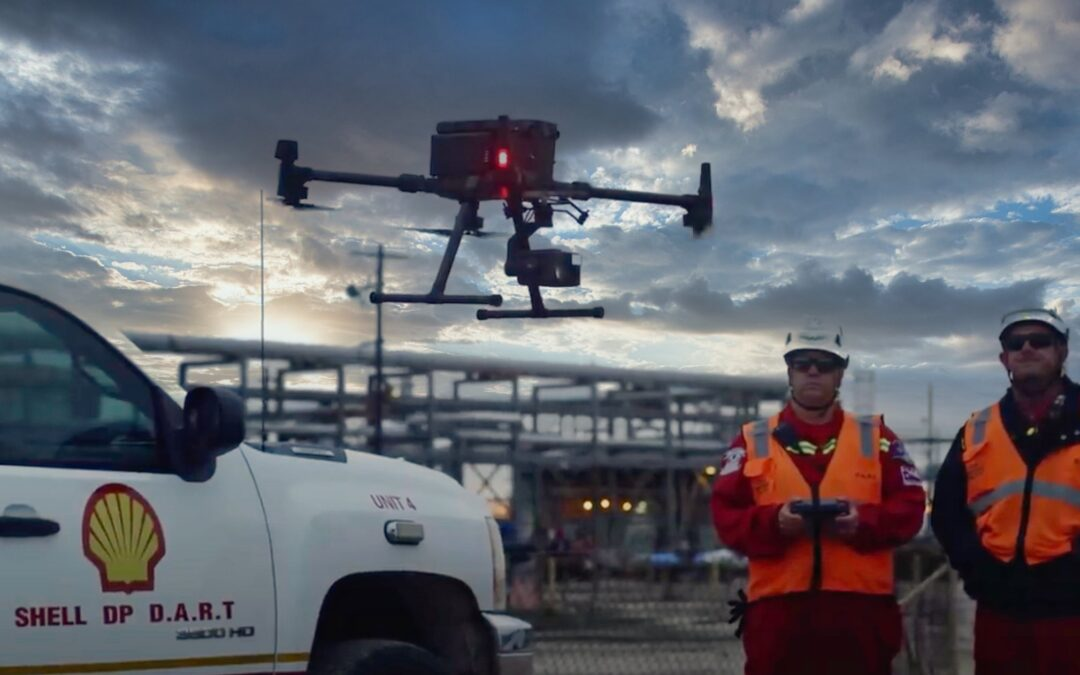 DJI and Shell partner for smarter and safer operations