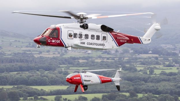 Drones to help rescue helicopter missions in the UK