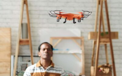 Indoor drones able to fly autonomously with image processing algorithm