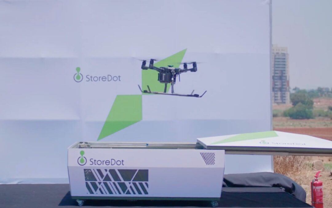New drone technology promises a 5-minute recharge