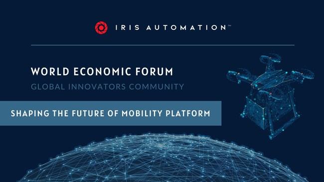 Iris Automation joins World Economic Forum's Global Innovators Community