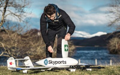 NHS Scotland employs drones to quickly transport vital medical supplies
