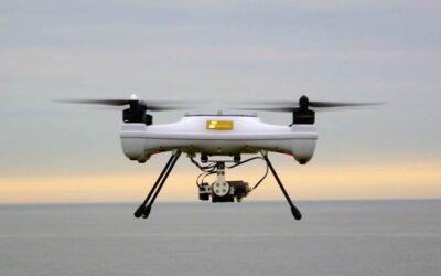 In the UK, scientists are using drones to pick the best spots for tidal power installations