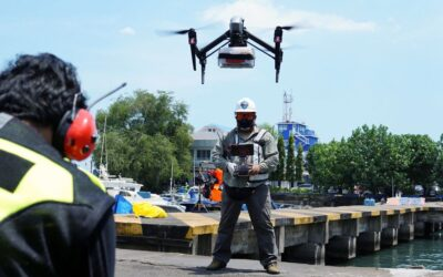 Drone deliveries provide lifeline for isolating COVID patients in Indonesia
